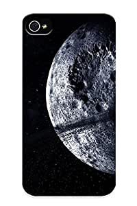 Crazinesswith Case Cover For Iphone 4/4s - Retailer Packaging Moon Protective Case