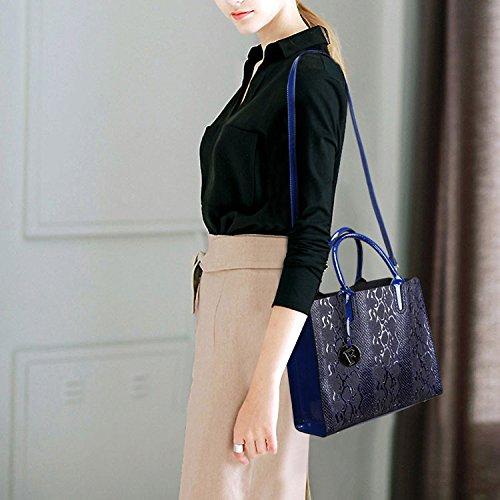 Las Moda La Totalizador Del Hombro Bolso Blue De Crossbody De Bolso Bolsos Elegante Salvaje Personalidad Embrague Mujeres Simples La De De FqIwI0SX