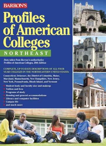 Profiles of American Colleges, Northeast (Barron's Profiles of American Colleges)
