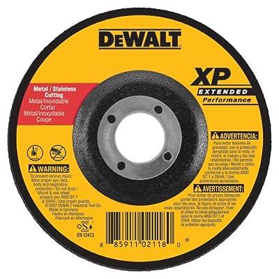 DEWALT DW8858 XP DC Cutoff Wheel, 5-Inch X .045-Inch X 7/8-Inch