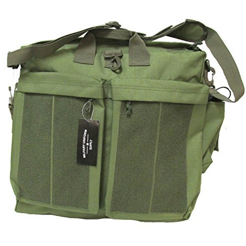 Military Uniform Supply Helmet Bag - Flyer's Bag OLIVE DRAB with Loop Panels