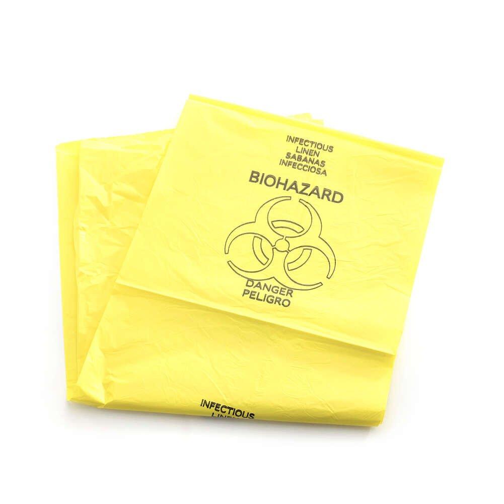 Amazon.com: medichoice bolsa de lino, infecciosa, costuras ...