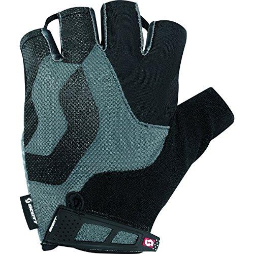 Scott Sports 2016 Men's Essential Short Finger Cycling Gloves - 227992 (black - L) (Black Glove Scott)