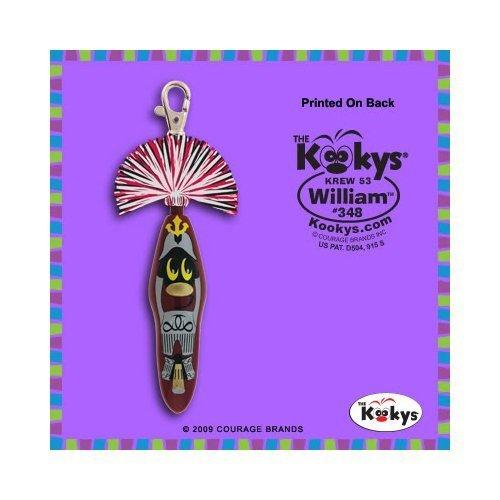 (Kooky Klicker Pen Keychain Krew 53 William New by Kooky)