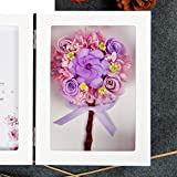 The imports rose Immortal flower photo frame Fresh rose Creative ornaments Mother's day-I