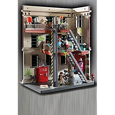 PLAYMOBIL Ghostbusters Firehouse: Toys & Games