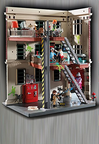 playmobil ghostbusters firehouse import it all. Black Bedroom Furniture Sets. Home Design Ideas