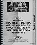 Ford 535 Industrial Tractor Service Manual (1975-1978)