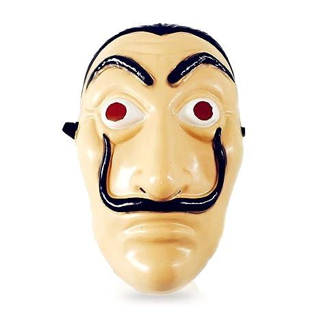 AOLVO Dali máscara de Cara, la casa de Papel, máscara ...