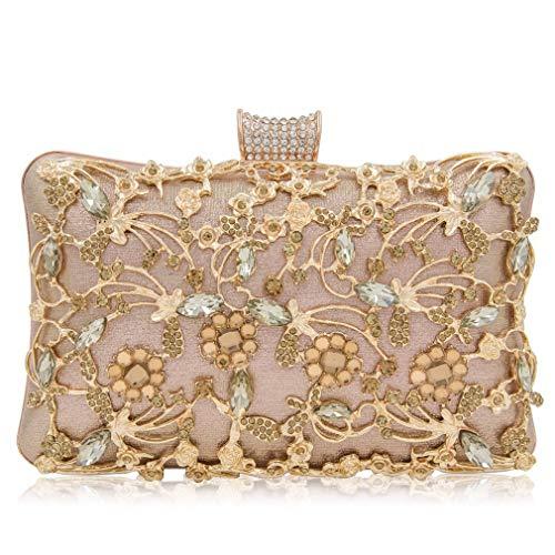 Evening Bags NEW Top Quality Bag Purse Ladies Clutch Clutches Women Box Female Champagne Wedding fnwfxqSgF