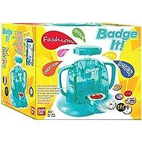 Bandai - 33300 - Kit De Loisirs Créatifs - Badge It! - Machine et 15 Badges