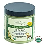 Hair Growth Pomade, Organic, Stops Itchy Scalp and Dandruff, Enriched with Hemp Seed