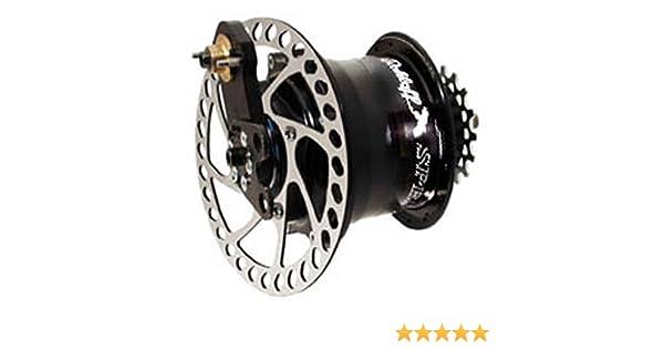 Rohloff Disc-Speedhub 500/14 DB, Q/R 32h black