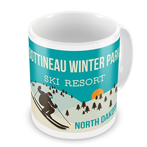 Coffee Mug Bottineau Winter Park Ski Resort - North Dakota Ski Resort - NEONBLOND