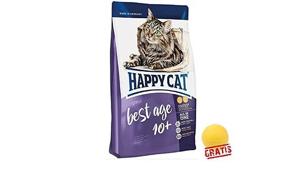 Happy Cat Best Age 10 + hcba + Ball gratis para todos los gatos a ...