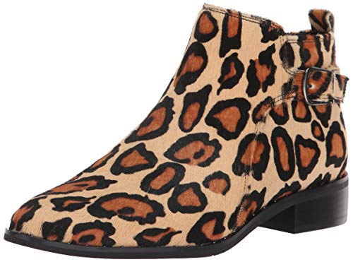Blondo Women's Tami Ankle Boot, Leopard Print, 12 M US