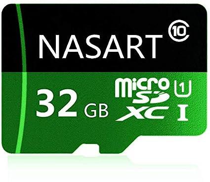 NARAST - Tarjeta Micro SD de 64 GB de Alta Velocidad Clase 10 con Adaptador Gratuito para Smartphones Android, tabletas 32 GB