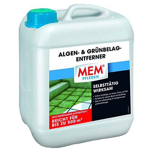 MEM 220021 Algen- und Grünbelag-entferner, 5 ltr