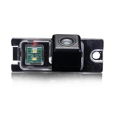 Cámara de seguridad para vehículo, resistente al agua, con monitor de visión trasera,