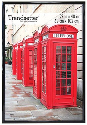 MCS Trendsetter 27x40 Inch Poster Frame, Black (27489) ()