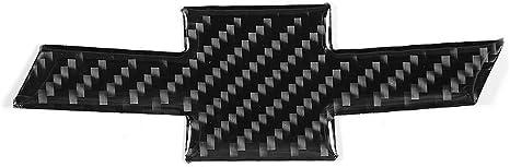 Kste 1 Pc Carbon Faser Auto Mark Ordnungs Abdeckung Dekoration Aufkleber For Chevrolet Camaro Vorne Küche Haushalt