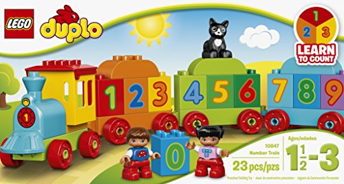 LEGO DUPLO My First Number Train 10847 Preschool Toy JungleDealsBlog.com