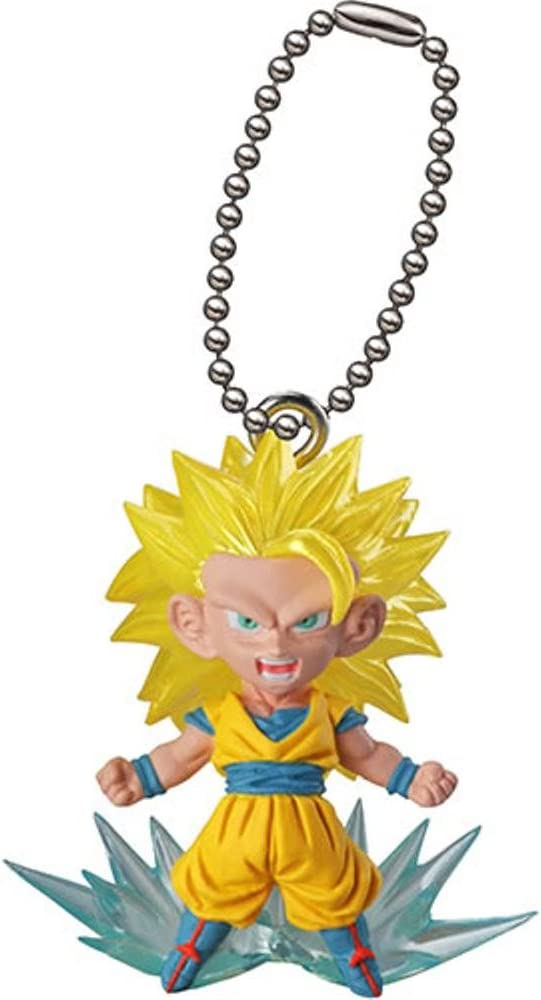 Bandai Dragon Ball Z Super DBZ UDM Best 29 Keychain Figure set of 5 SSGSS Goku