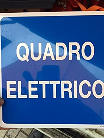cartel marco Eléctrico 30 X 20: Amazon.es: Industria ...