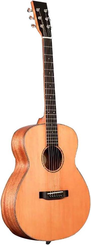 NUYI 36 Pulgadas Chapear Guitarra Folk Guitar Retro Color Único ...