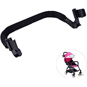 ROMIRUS Grip Handle Handlebars Armrest Bumper Bar for Babyzen YOYO Baby Stroller