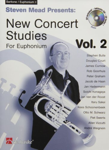 Steven Mead Presents: New Concert Studies for Euphonium by Unknown - Presents Steven Mead