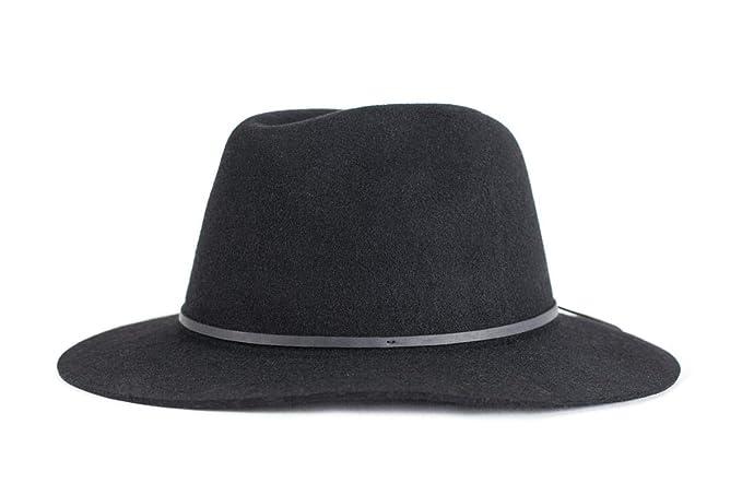 Brixton Wesley Fedora - Sombrero para Hombre  Amazon.com.mx  Ropa ... 73797388326
