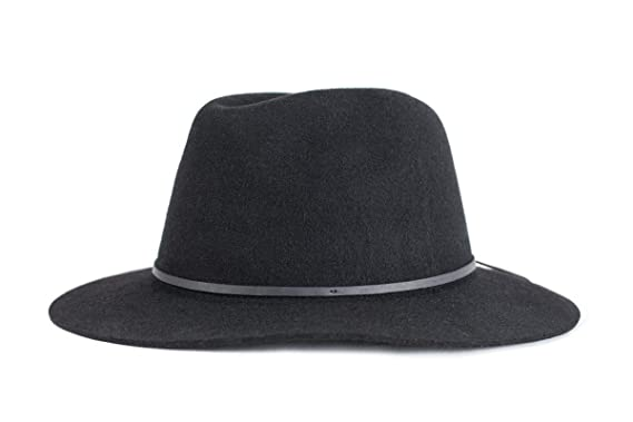 82a7388dce8b4 Amazon.com  Brixton Men s Wesley Fedora Hat  Clothing