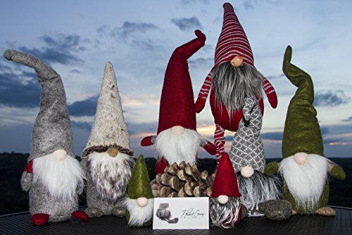 Handmade Christmas Gnome Ornaments For Men, Women & Kids | Well Crafted Luxury Figurines Set For Home Décor, New Year's Eve Parties, Personalized Gifts, Table Centerpieces, Garden (Family Set) by Holiday Christmas Gifts 7ProductGroup (Image #1)