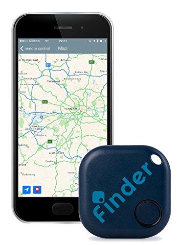 musegear Schlüsselfinder (dunkelblau) | Einfach per kostenloser App (iPhone & Android) alles wiederfinden | Ultimatives Handy Gadget als Schlüsselanhänger oder Auto-Zubehör Accessoire