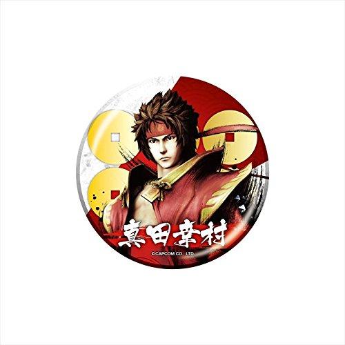 Sengoku BASARA Sanada seafood village propagation can badge collection BOX product 1 BOX = 10 pieces with a total 10 types Capcom