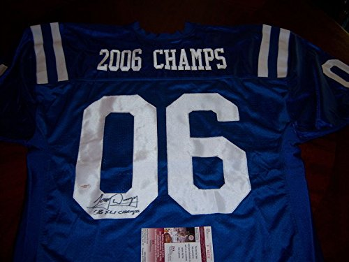 (Tony Dungy Colts2006 Sb Champs JSA Autographed Signed Jersey - Certified Authentic)