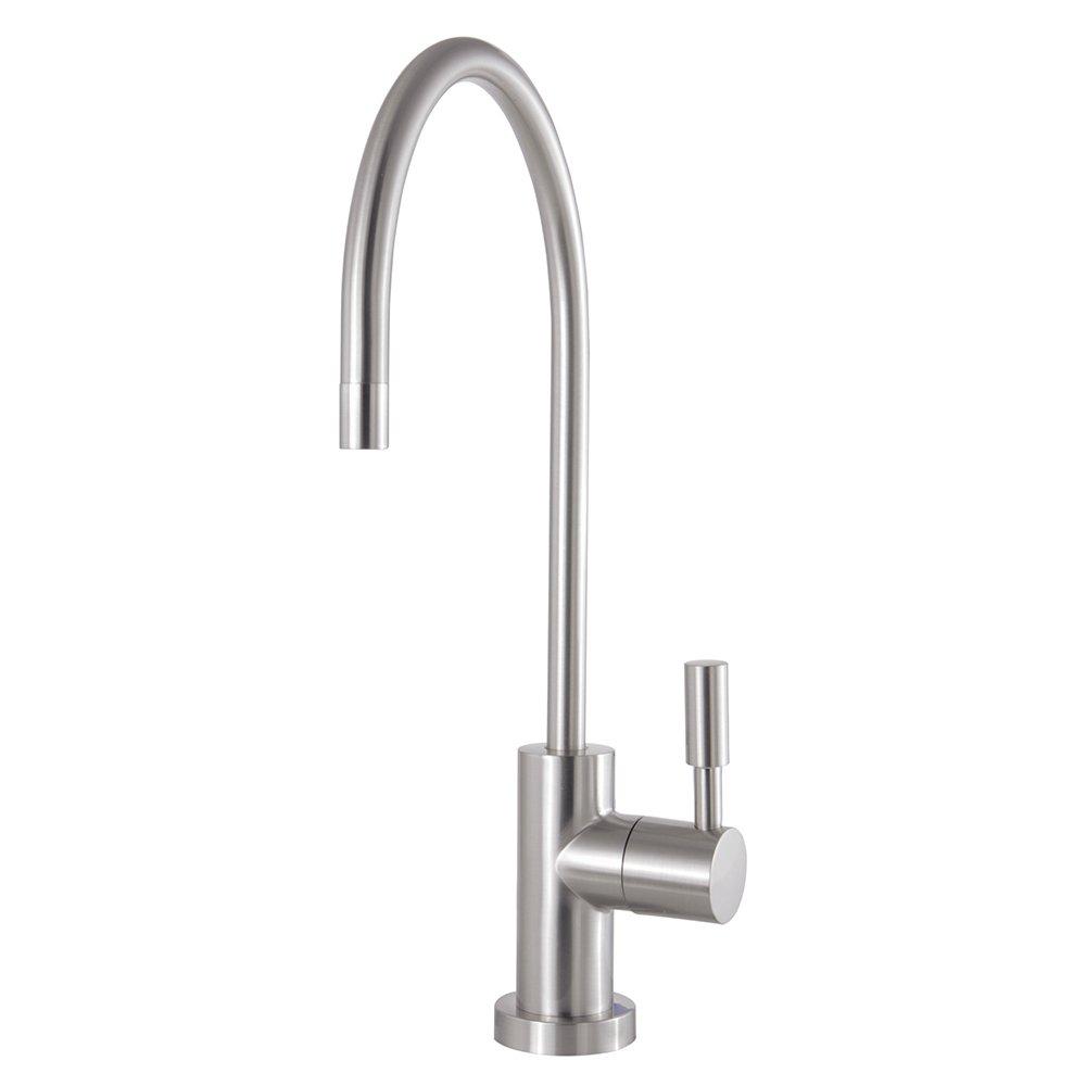 Kingston Brass KSAG8198DL Concord Filtration Water Air Gap Faucet, Brushed Nickel
