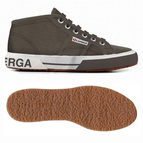 2754 grigio Grigio Pluslnylu Sneakers Superga Donna Stringate fx85qppn