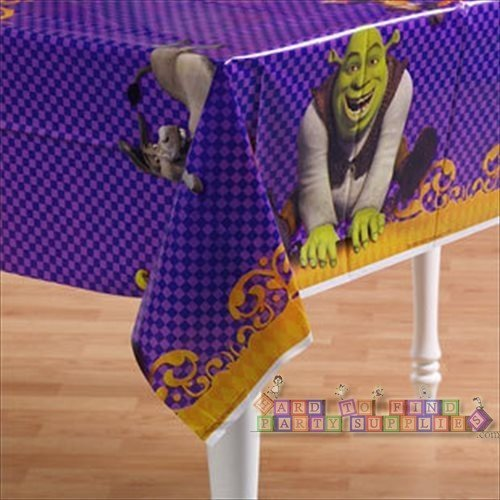 Shrek The Third Plastic Table Cover (1ct)