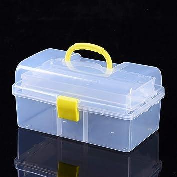 Caja de almacenamiento de herramientas de plástico, portátil ...