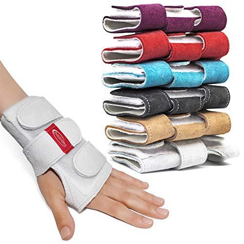 3ed4d40a5929 Zhezhera Tigerest Gymnastics Wrist Supports Paws (White S)