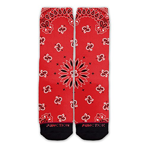 Function - Red Bandana Fashion Socks