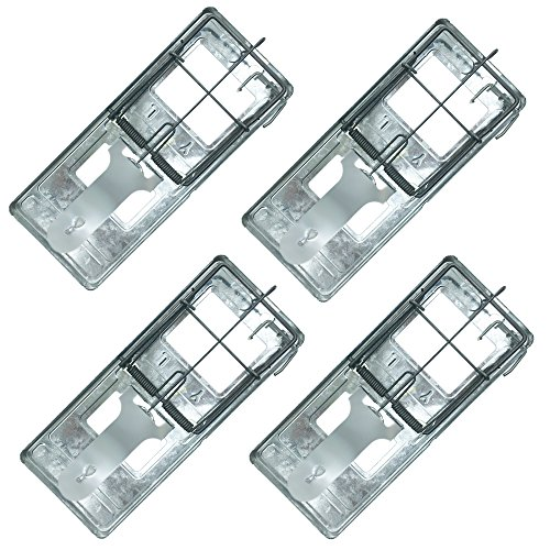 Trapro Metal Rat Trap Snap Trap for Rats and Other Large Rodents (Pack of 4)