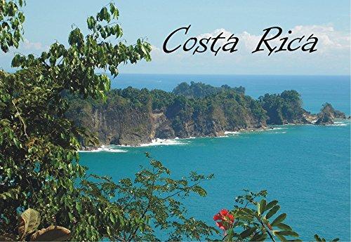 Republic of Costa Rica, Central America, Beach, Souvenir Magnet 2 x 3 Photo Fridge Magnet