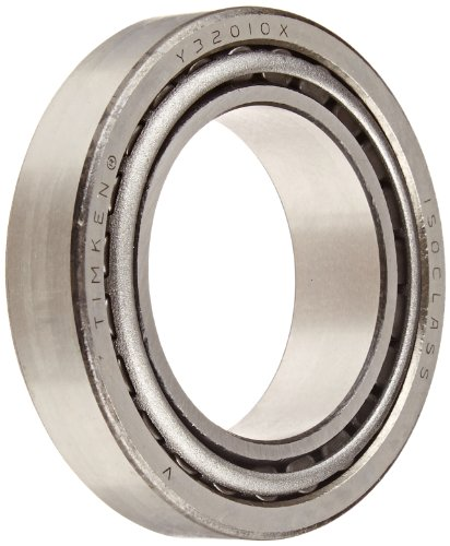 Timken 32010X90KA1 Tapered Roller Bearing Cone and Cup Set, Steel, Metric, 50mm ID, 80mm OD, 20mm Cup (Metric Bearings)