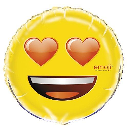 Unique Valentine's Day Heart Eyes Emoji Round 18