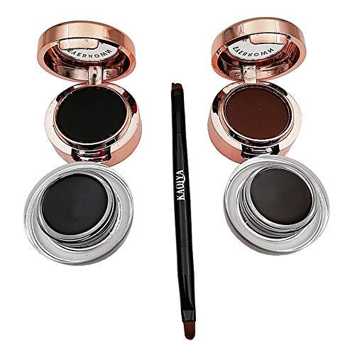 Ktyssp Waterproof Eye Liner Eyeliner GEL Makeup Cosmetic Brush Black