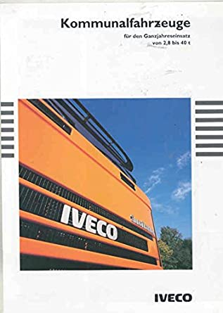 1994 Iveco Euro Trakker Star Tech Cargo Daily Turbo Truck Brochure German
