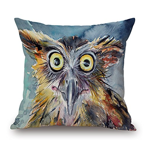 Alphadecor Bird Throw Pillow Covers 20 X 20 Inches / 50 By 50 Cm Best Choice For Wife,couples,wedding,bar Seat,divan,boy Friend With Twin Sides